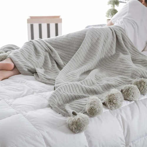 manta de algodón de punto, sofá  ropa de cama  sofá ...