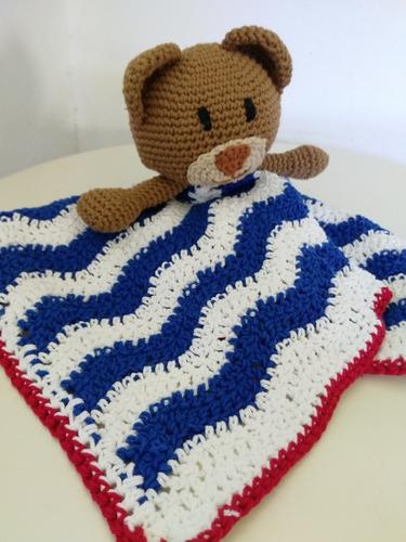 manta de apego bebes. amigurumis. tejido. crochet