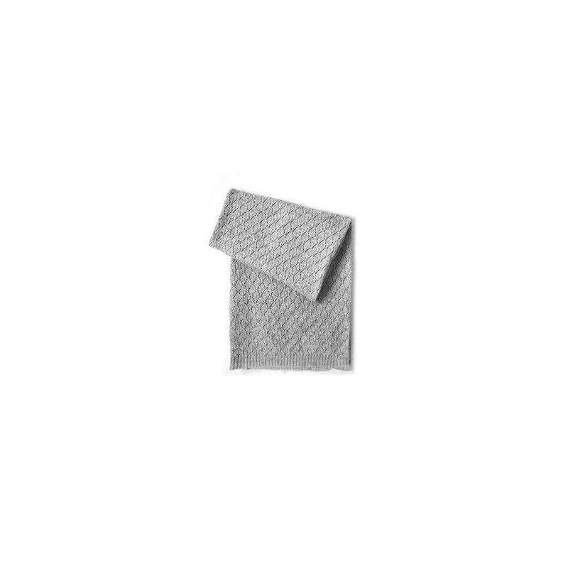 Manta De Bebé Estefoli Edelweiss Wool Blend, Gris - $ 1,974.87 en ...