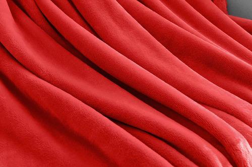 manta de cama de vellón de lujo sofá manta de tirar  ...