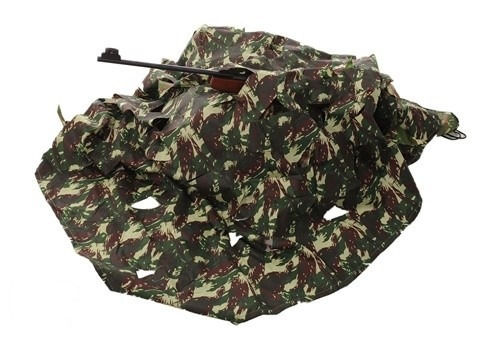manta de camuflagem de selva padrão exército brasileiro