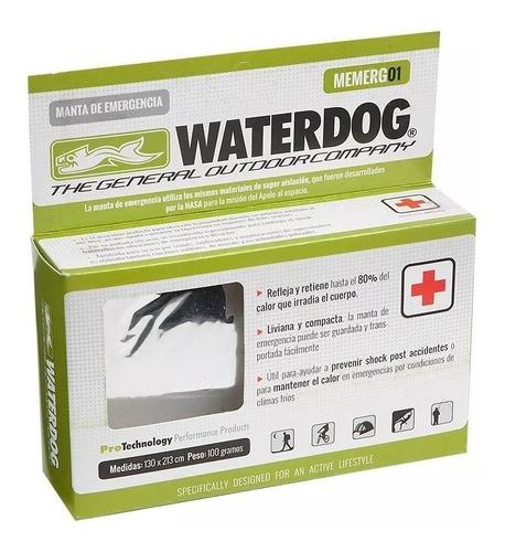 manta de emergencia waterdog