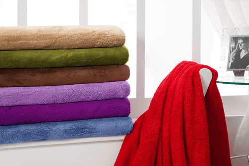 manta de microfibra cobertor super soft queen várias cores