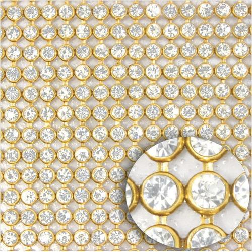 manta de strass 20x45 100% cristal brilhoso, promoção!