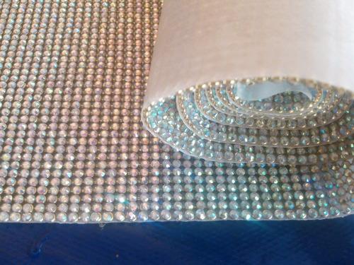 manta de strass cristal excelente qualidade alto brilho