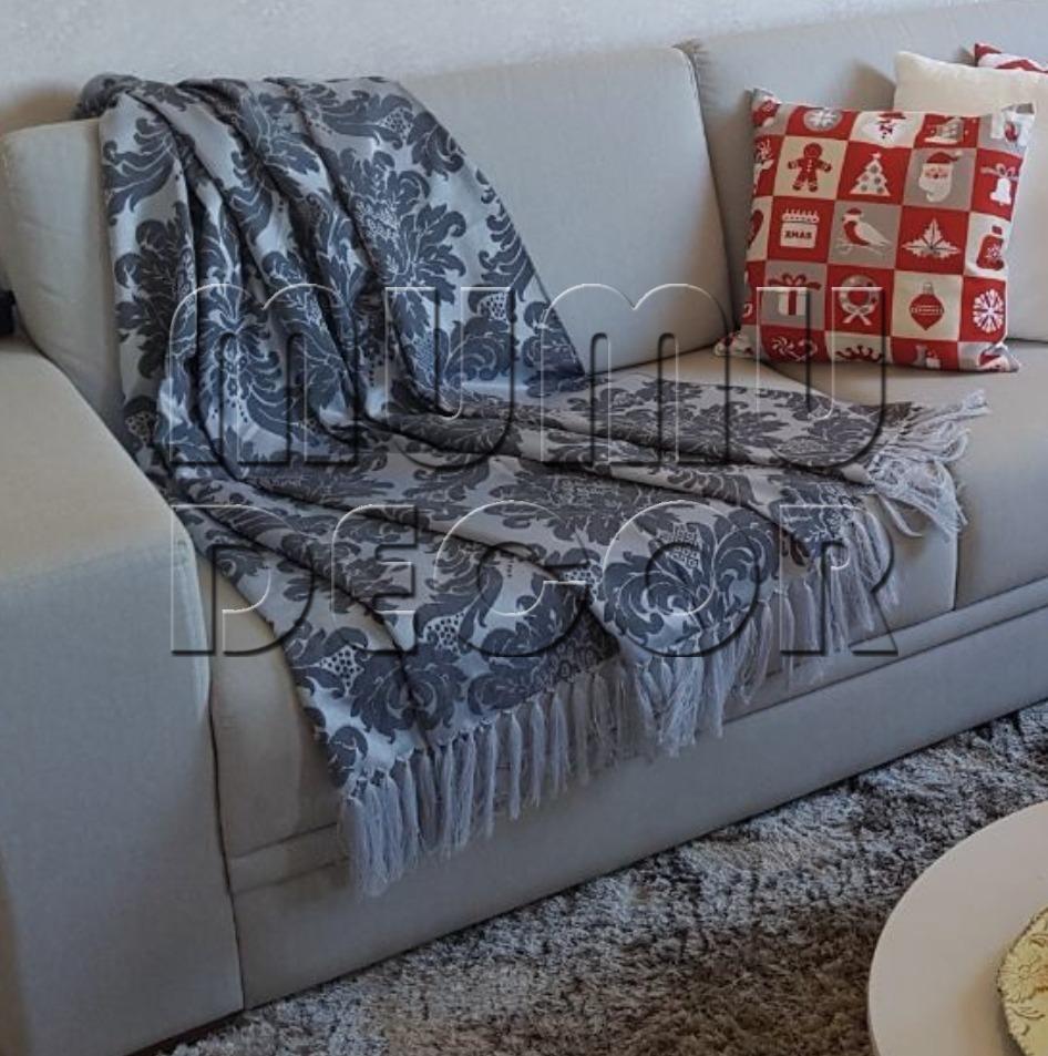 Manta decorativa sofa manta para sof r 69 90 em - Manta para sofa ...