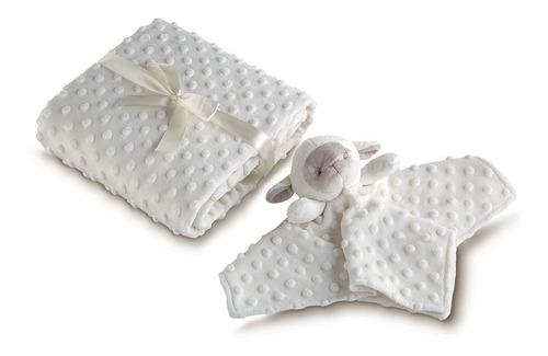 manta dupla face + naninha mini lepper para bebe barata