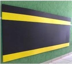 manta em eva / protetor parede garagem