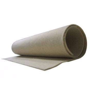 manta feltro branco 160 cm comp x 55 cm lar x 3mm espessura