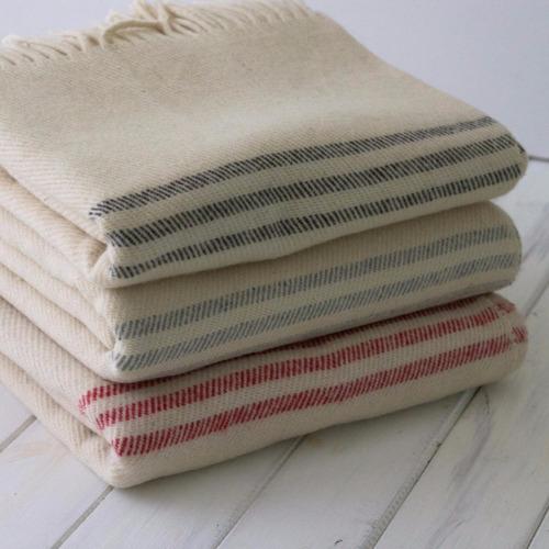 manta lana 3 rayas
