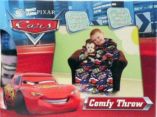 manta lanza disney cars cómodo con mangas ~ ~ tamaño del ni