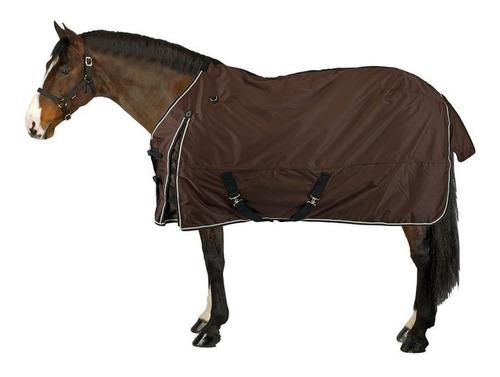 manta ligera para caballo exterior imperm. equitación 155cm