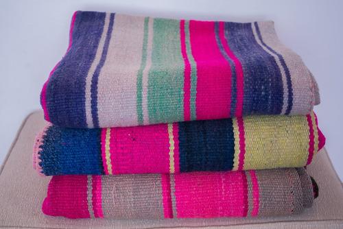 manta norteña tejida en telar, decora hogar, casa, oficina