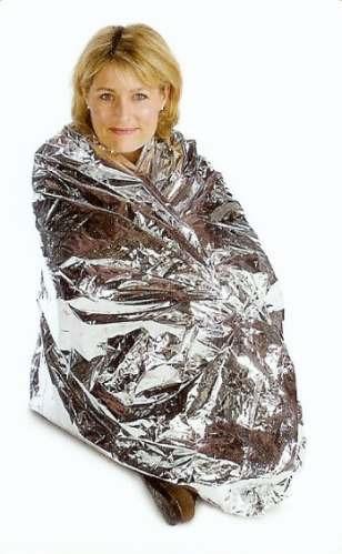 manta o sábana termica de supervivencia water proof