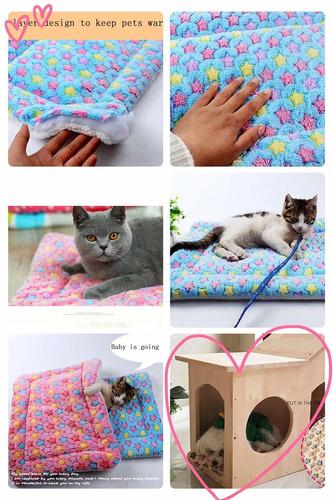 manta para cama de perro  gato para mascotas, manta par...