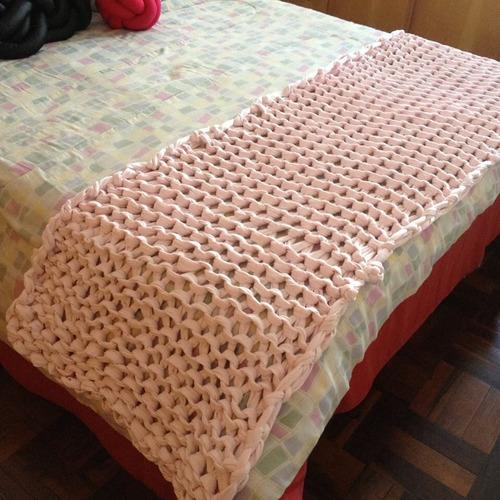 Manta para p cama casal tric gigante r 279 00 em - Ikea mantas para camas ...