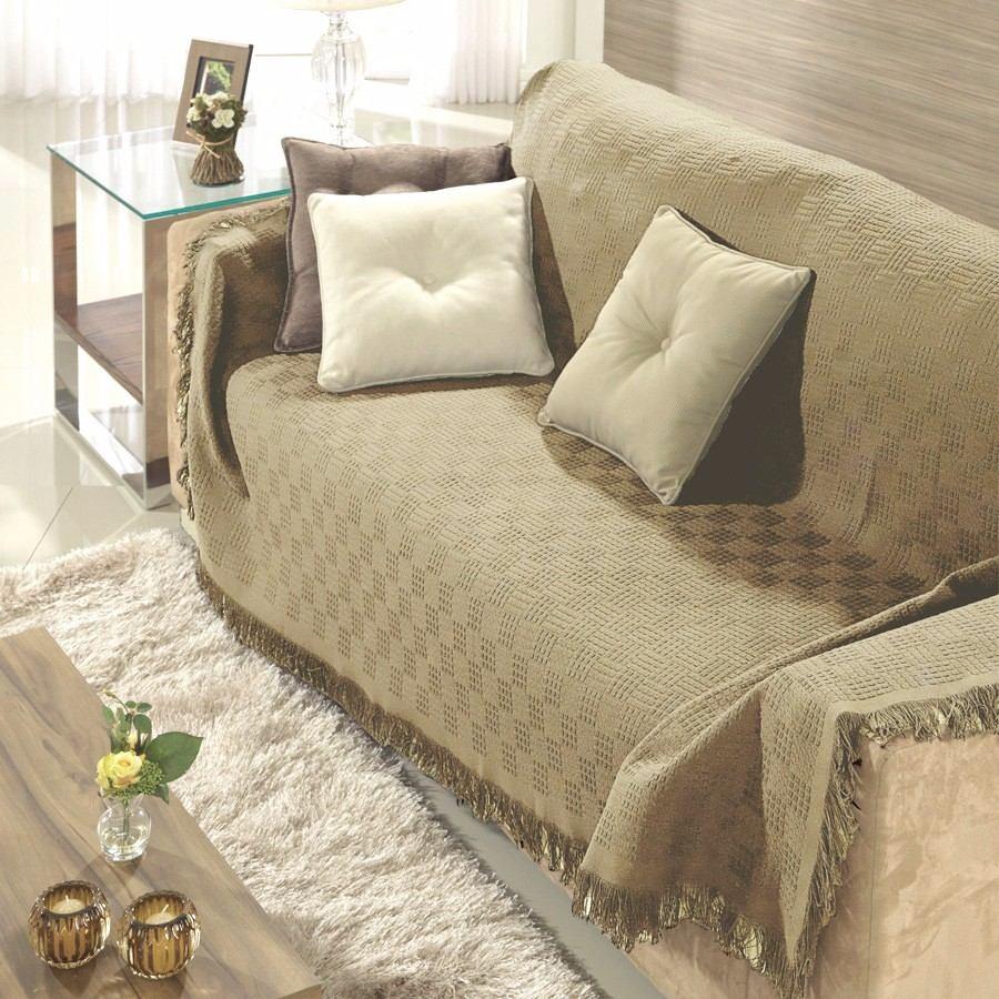 Manta para sof dohler london 1 60x2 20m 100 algod o bege for Mantas para sofas