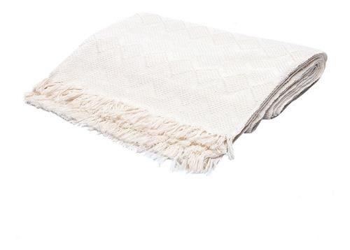 manta para sofa luxuosa 2,40x180 atacado gigantes bege crua