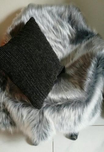 manta pelego para decorar cadeira  fotografia cores 1,00x80