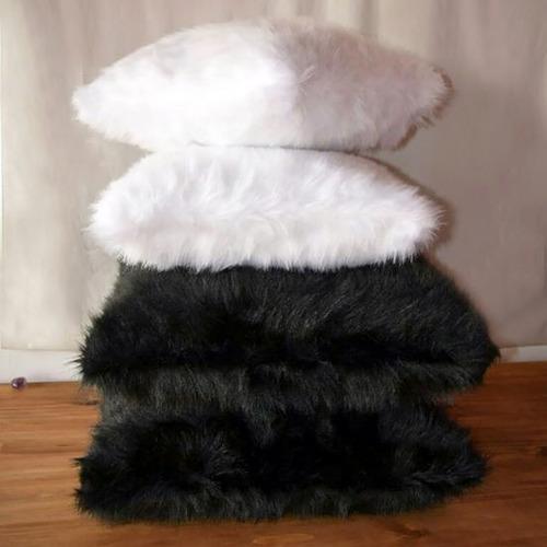 manta pie de cama piel sintética 1.50 x 2.50 estilo nórdico
