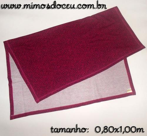 manta pink/preto