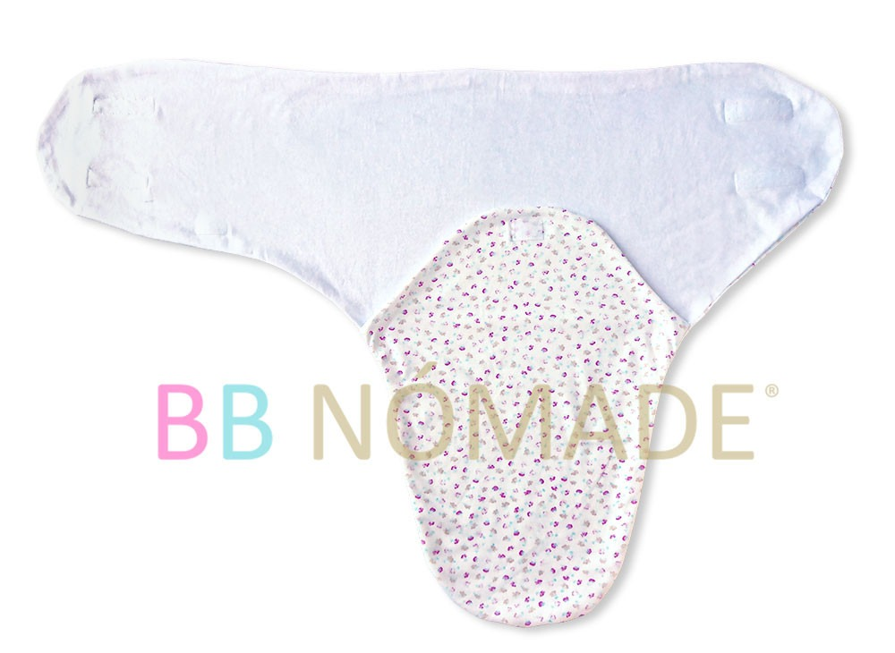 Manta Recibidora Capullo Doble Algodón Para Bebé 0-3 M+ - $ 319,00 ...