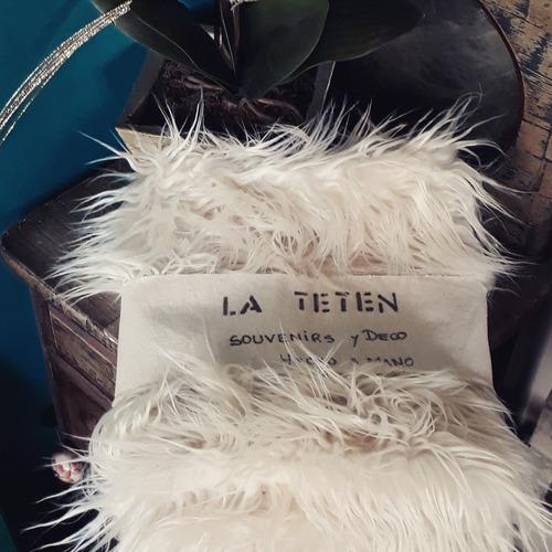 manta sillones almohadones pelo extra largo presupuesto