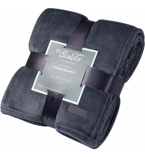 manta soft fleece throw  manta de felpa para cama o sof...