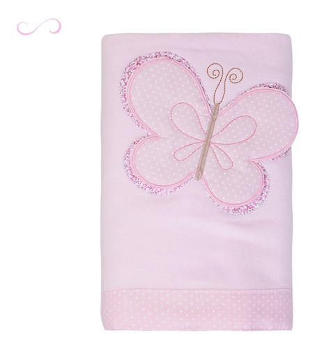 manta soft macia antialérgica cobertor bebê rosa envio 24h