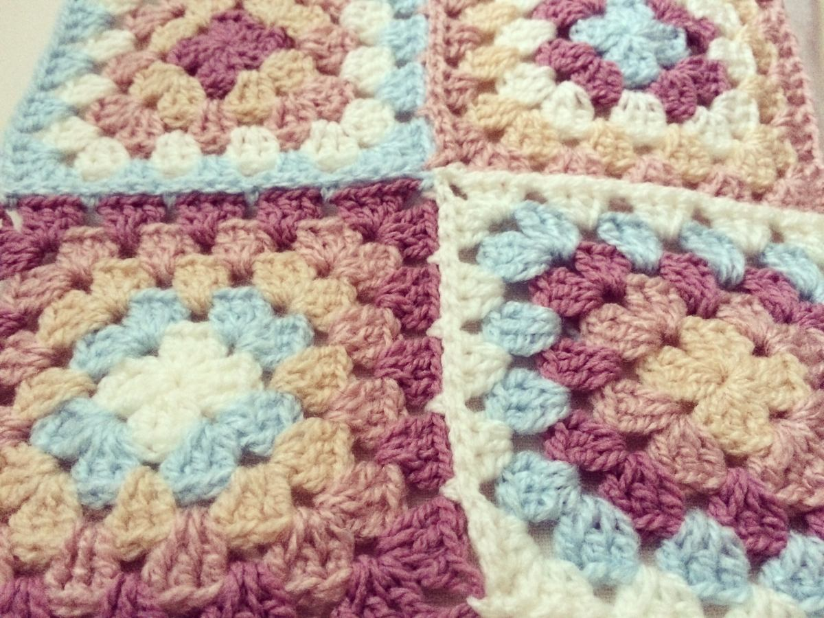 Manta Tejida Al Crochet Para Decirar Un Sillon, Para Bebes - $ 1.700 ...