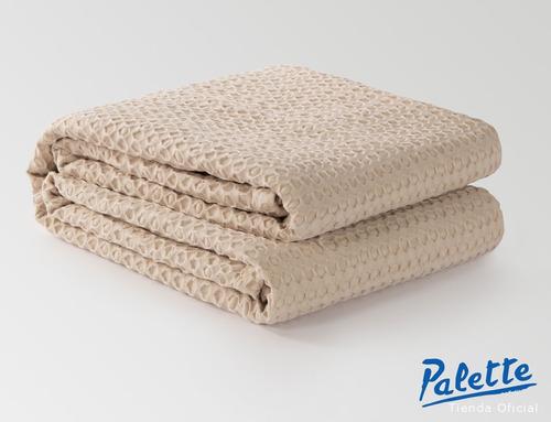 manta tejida pie de cama tokio palette colcha cover 1 plaza