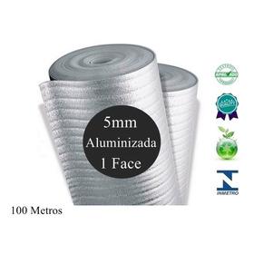 Manta Termica De Telhado Subcobertura 5mm 1 Face 100 Metros