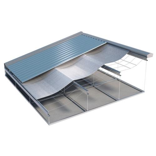 manta térmica para telhado dupla face 50m² + fita p/ emenda