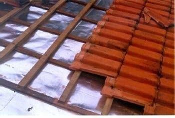 manta térmica para telhado face única 50m²