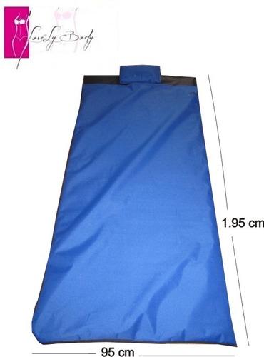 manta térmovibradora+gel t.ruductor+faja térmica+ p.osmótico