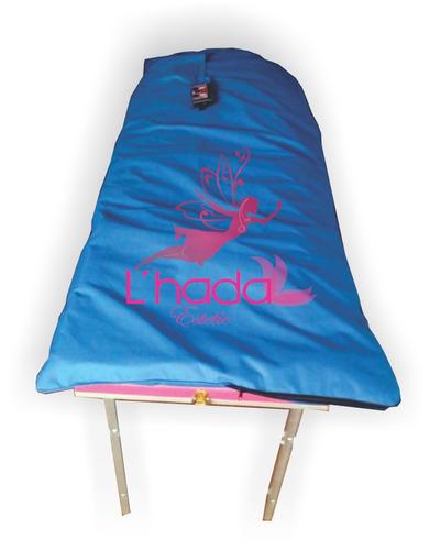 manta termovibradora kit termobag estetica & terapias regalo