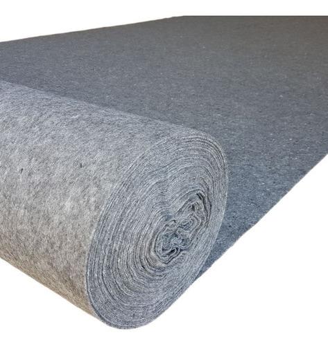 manta tipo bidim geotextil 50mts² p/ drenagem 2,30x22,00