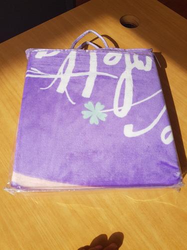 manta violeta y cars 100 x 120 cm extra suave disney