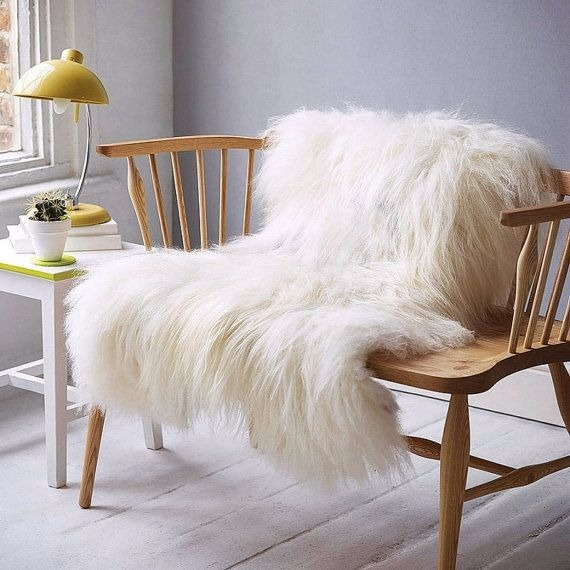 Ikea White Wool Rug