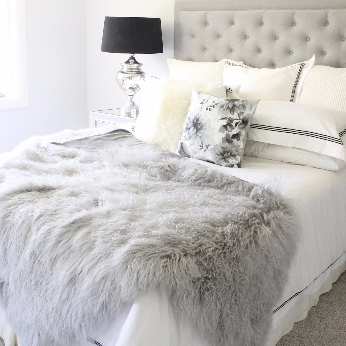 Manta xale pra cama sof cadeira puff pelo alto x1 - Ikea mantas para camas ...