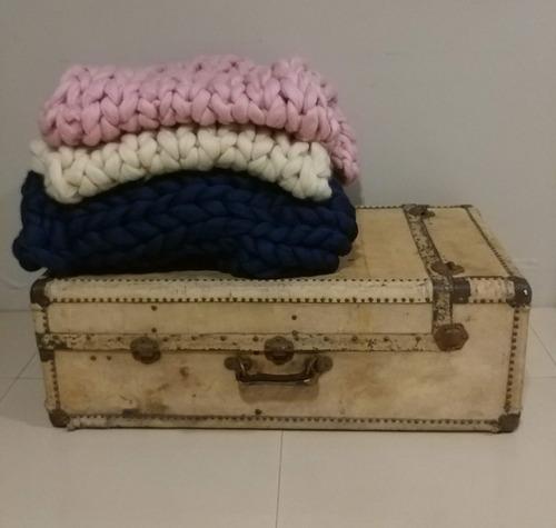 manta xxl nórdica battaniye - pie de cama   netflix invierno
