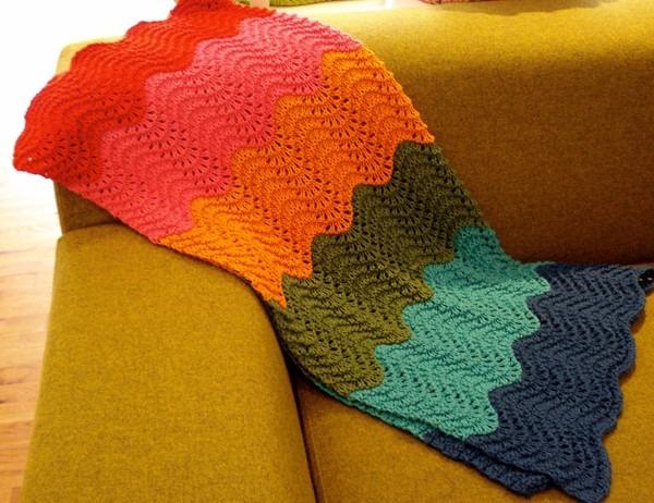 Manta Zigzag 6 Colores  lana  Baby Boutique - Bebe Niños - $ 1.392 ...