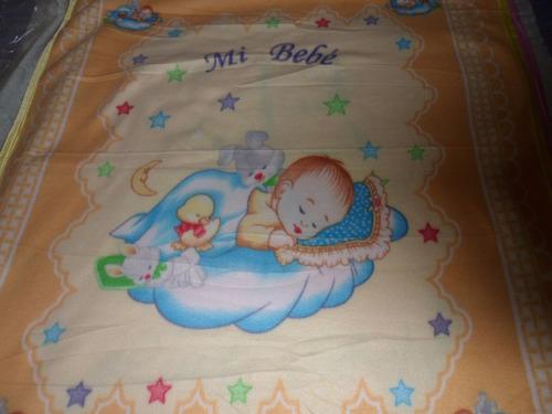 manta/frazada de bebé/a polar con ribetes de raso leer