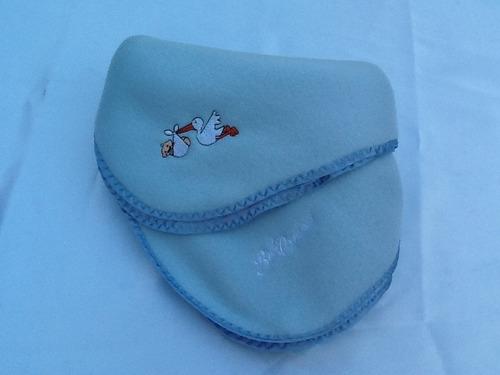 manta/frazada de polar para bebé rosa/celeste lote 17 unidad