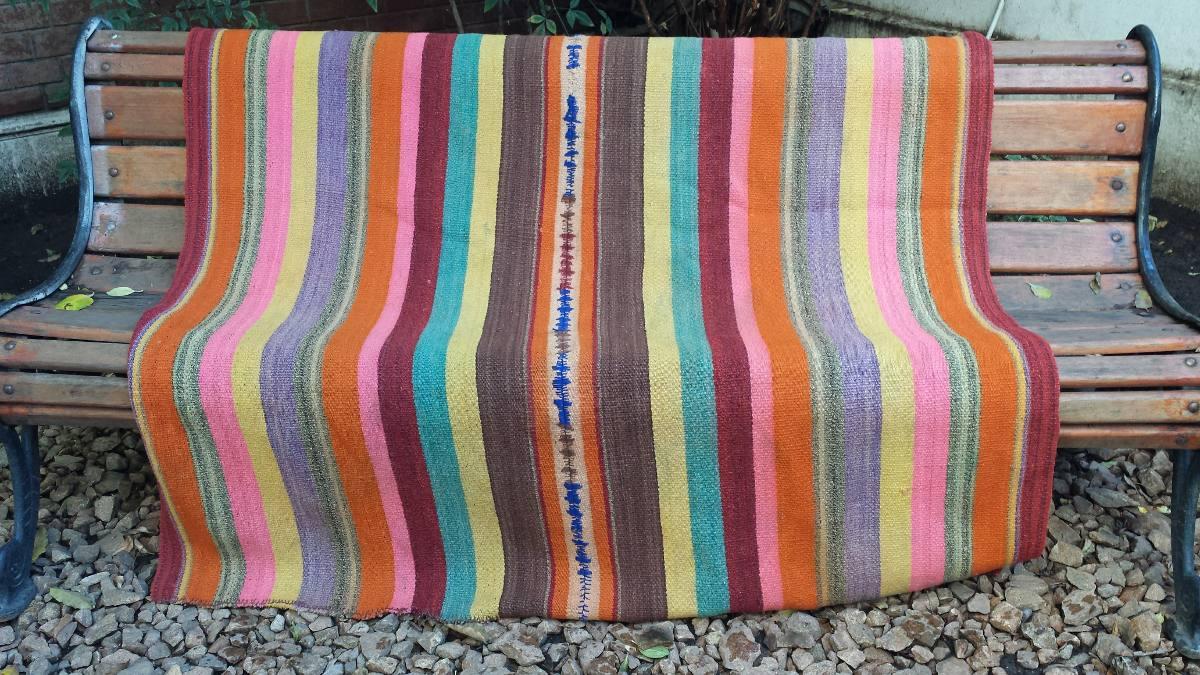 Mantas a telar hechas a mano 100 de lana en - Mantas de punto hechas a mano ...