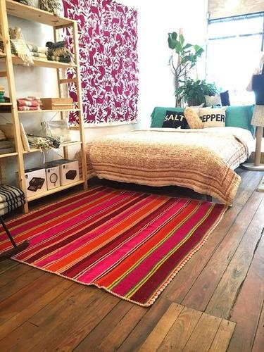 mantas, alfombras, pies de cama, puyos, aguayos