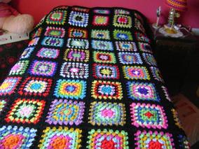 2b09b8a89 Mantas Cubrecamas Tejidas Al Crochet
