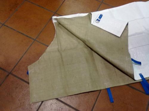 mantas o tapas para caballo manta de yute y nilon excelente
