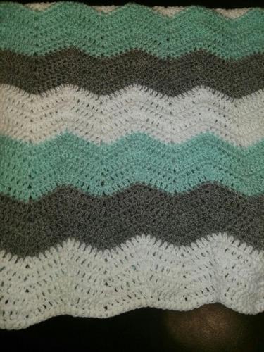 mantas para bebes tejidas a mano en crochet