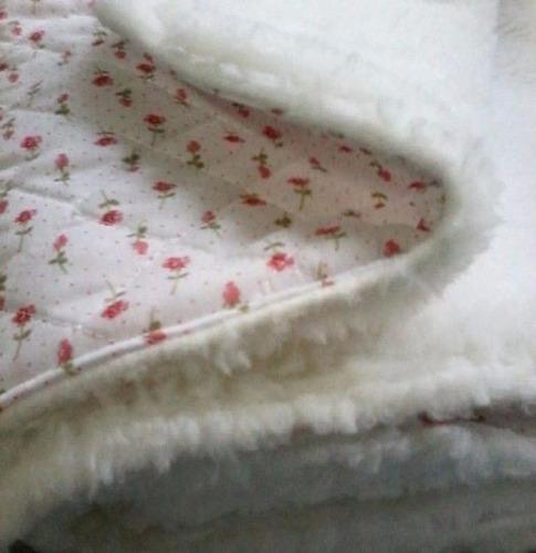 mantas recibidoras de corderito y polar